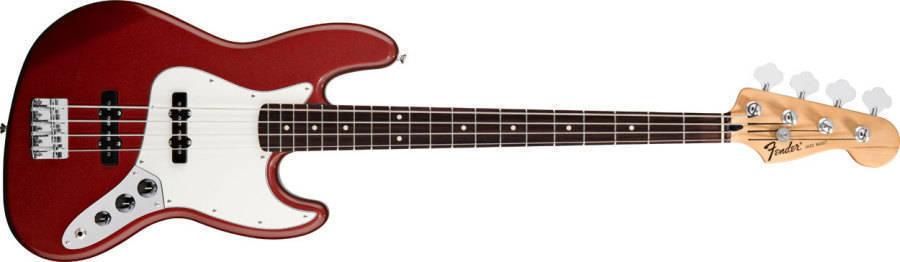 Circuito De Bajo Jazz Bass : Fender standard jazz bass rosewood neck in candy apple