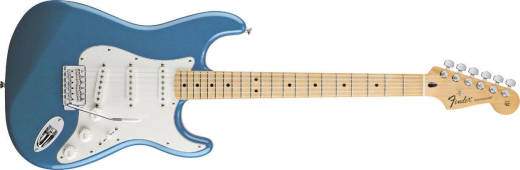 Standard Strat - Maple in Lake Placid Blue