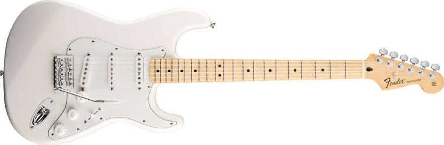 Fender Standard Strat Maple In Arctic White Long