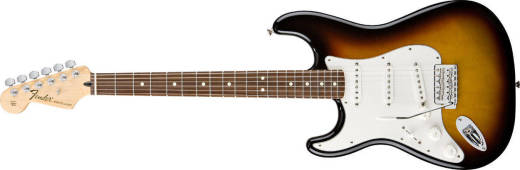 Standard Strat Left Handed - Rosewood in Brown Sunburst