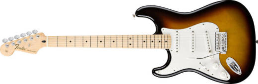 Standard Strat Left Handed - Maple in Brown Sunburst