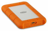 LaCie - Rugged USB-C 4TB Portable Hard Drive