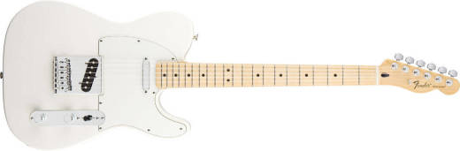 Standard Tele - Maple Neck in Arctic White