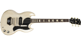 Gibson - Brian Ray 62 SG Junior Electric Guitar - White Fox