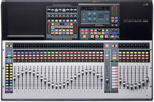 StudioLive 32S 32-channel 26 Bus Digital Mixer/Recorder/Interface
