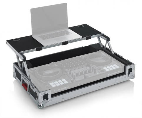 Road Case for PIoneer DDJ-1000 Controller with Laptop Shelf