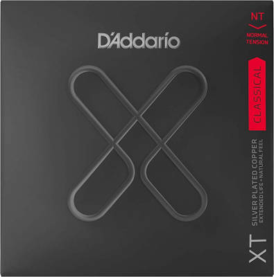 DAddario - XT Classical Guitar String Set, Silver Plated Copper - Normal