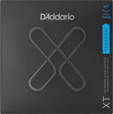 DAddario - XT Classical Guitar String Set, Silver Plated Copper - Hard
