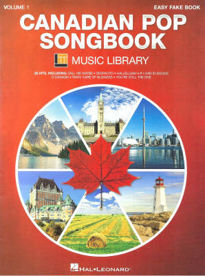 Canadian Pop Songbook, Volume 1 - Kohl - Easy Fake Book