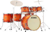 Tama - Superstar Classic 7-Pc Shell Pack (22,8,10,12,14,16,SD) - Tangerine Lacquer Burst