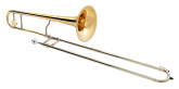 XO Professional Brass - 1634RLT Professional Bb Trombone, .508 Bore, Rose-Brass Bell
