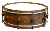 A&F Drum Co. - Raw Brass Snare Drum 5x14