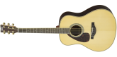 Yamaha - A.R.E. Dreadnought Acoustic/Electric Guitar - Natural - Left-Handed