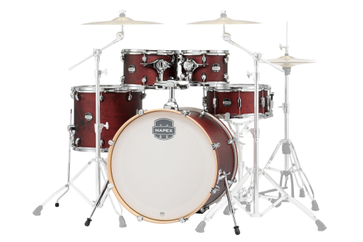 MARS 5-Piece Shell Pack - Cherry Red Lacquer