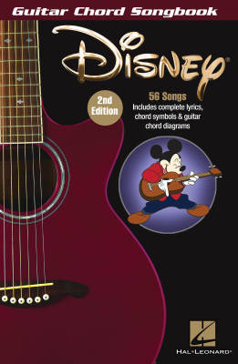 Disney: Guitar Chord Songbook (2nd Edition) - Guitar - Book