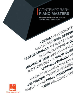 Contemporary Piano Masters - Piano - Book