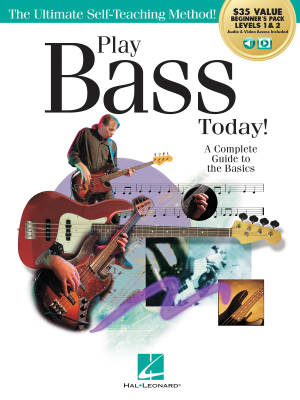 Play Bass Today! All-in-One Beginner's Pack - Kringel/Downing - Bass Guitar TAB - Book/Media Online