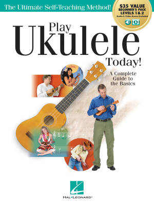 Play Ukulele Today! All-in-One Beginner's Pack - Tagliarino/Nicholson - Ukulele - Book/Media Online