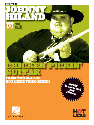 Johnny Hiland - Chicken Pickin' Guitar - Book/Video Online