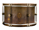 A&F Drum Co. - Raw Brass Royal Rack Tom 9x13