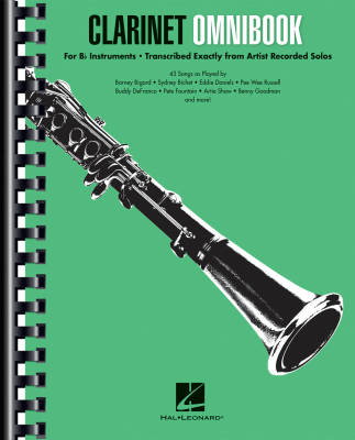 Clarinet Ominbook for Bb Instruments - Book