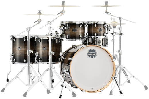 Armory 6-Piece Studioease Shell Pack - Black Dawn