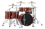 Mapex - 30th Anniversary 5-Piece Drum Kit - Garnet Flame