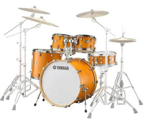 Tour Custom Shell Pack with Snare (22,10,12,16, SN) - Caramel Satin