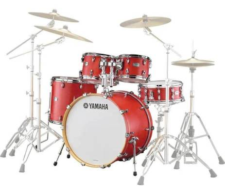 Tour Custom Shell Pack with Snare (20, 10, 12, 14, SN) - Candy Apple Satin
