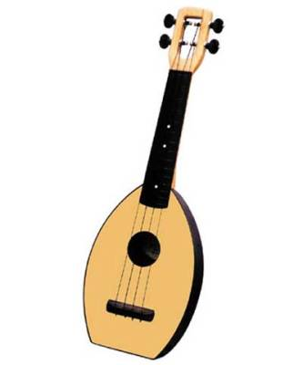 Flea Soprano Ukulele - Natural