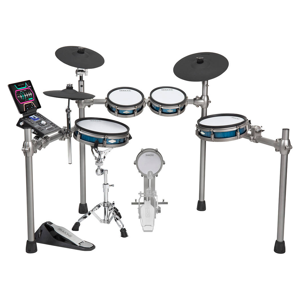 Simmons SD1200 Electronic Drum Set With Mesh Heads And Bluetooth - Long & McQuade Musical