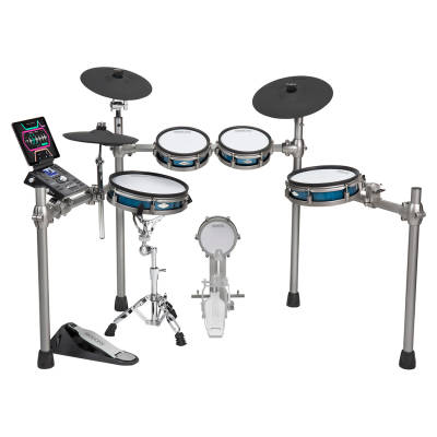 SD1200 Electronic Drum Set with Mesh Heads and Bluetooth