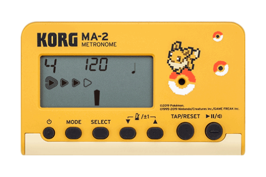 MA-2 Limited Edition Pokemon Digital Metronome - Eevee