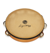 Latin Percussion - Lenny Castro Single Row 10 Tambourine with Bag