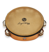 Latin Percussion - Lenny Castro Double Row 10 Tambourine with Bag