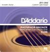 DAddario - EJ26 - Phosphor Bronze CUSTOM LIGHT 11-52