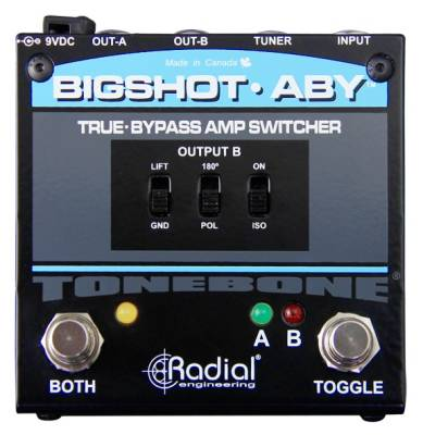 BigShot ABY Amp Switcher