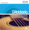 DAddario - EJ16 - Phosphor Bronze LIGHT 12-53
