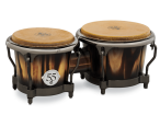 Latin Percussion - 55th Anniversary Bongo Set - Candy Black Fade