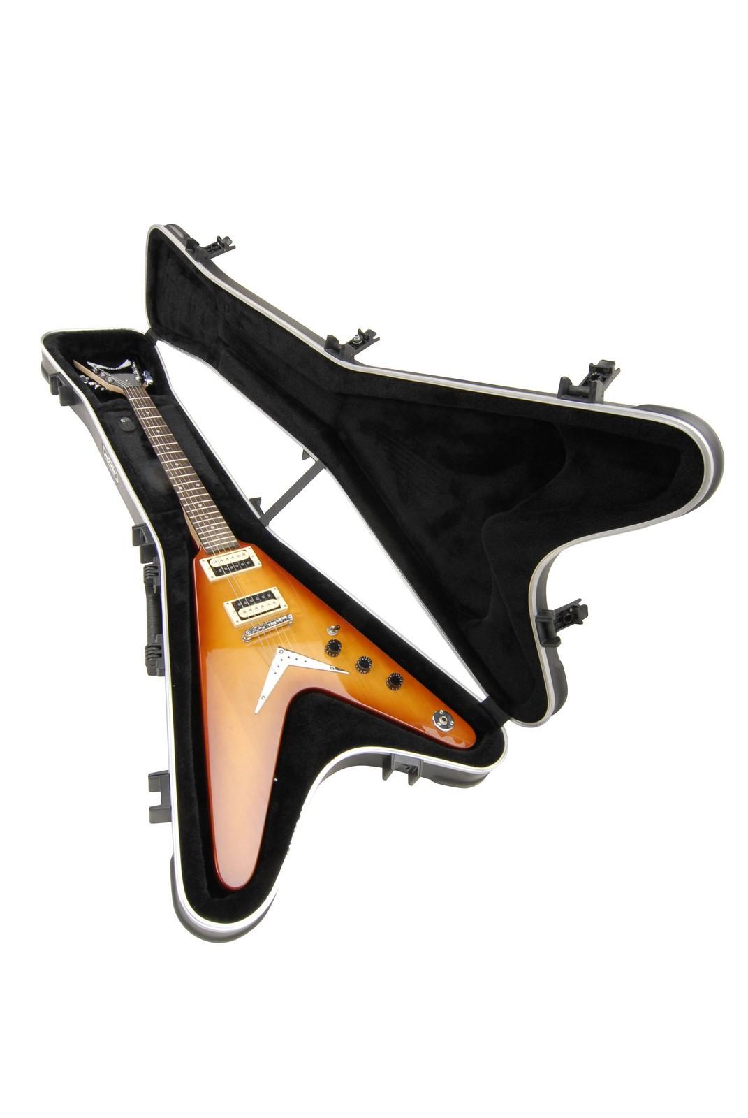 8b7e4bbd928 SKB Hardshell Guitar Case For Gibson Flying V - Long & McQuade ...