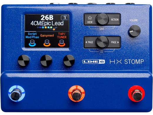 HX Stomp Multi-Effects Processor - Limited Edition Lightning Blue
