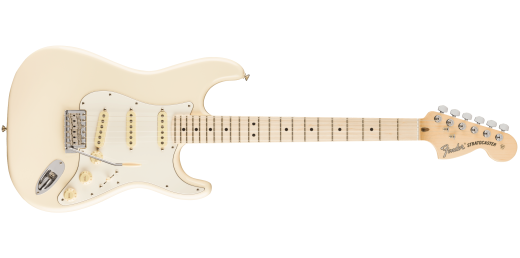 FSR American Performer Stratocaster, Maple Fingerboard - Olympic White