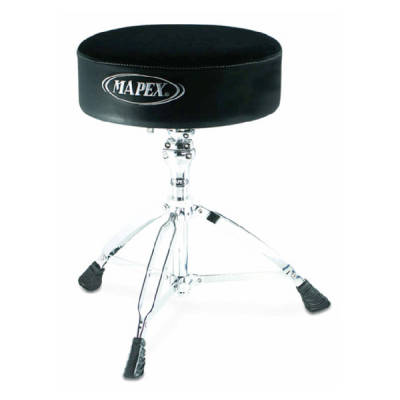 T760A - Round Cloth-Top Drum Throne