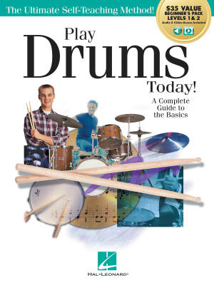 Play Drums Today! All-in-one Beginner's Pack - Schroedl - Books/Media Online