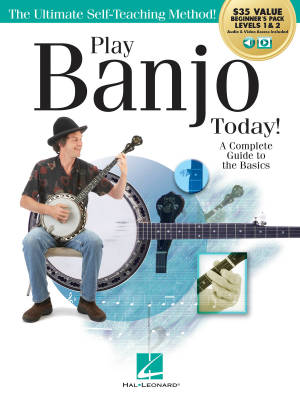 Play Banjo Today! All-in-one Beginner's Pack - O'Brien - Books/Media Online