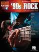 Hal Leonard - 90s Rock: Bass Play-Along Volume 4 (2nd Edition) - Bass Guitar TAB - Book/Audio Online