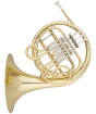 Carlton - Single French Horn - Lacquered Finish