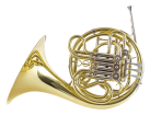 Carlton - Double French Horn - Geyer Wrap - Lacquered Finish