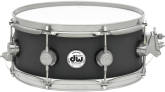 Drum Workshop - 5.5x14 Collectors Series Cast Aluminum Snare with Black Powder Finish and Satin Chrome Hardware