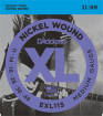 DAddario - EXL115 - Nickel Wound BLUES/JAZZ ROCK 11-49